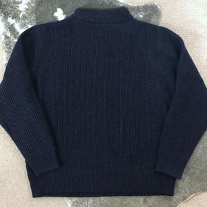 L.L. Bean Sweaters - L.L. Bean Merino Lambs Wool Quarter Zip Sweater